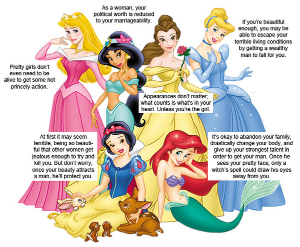 what's wrong with Disney Princessees